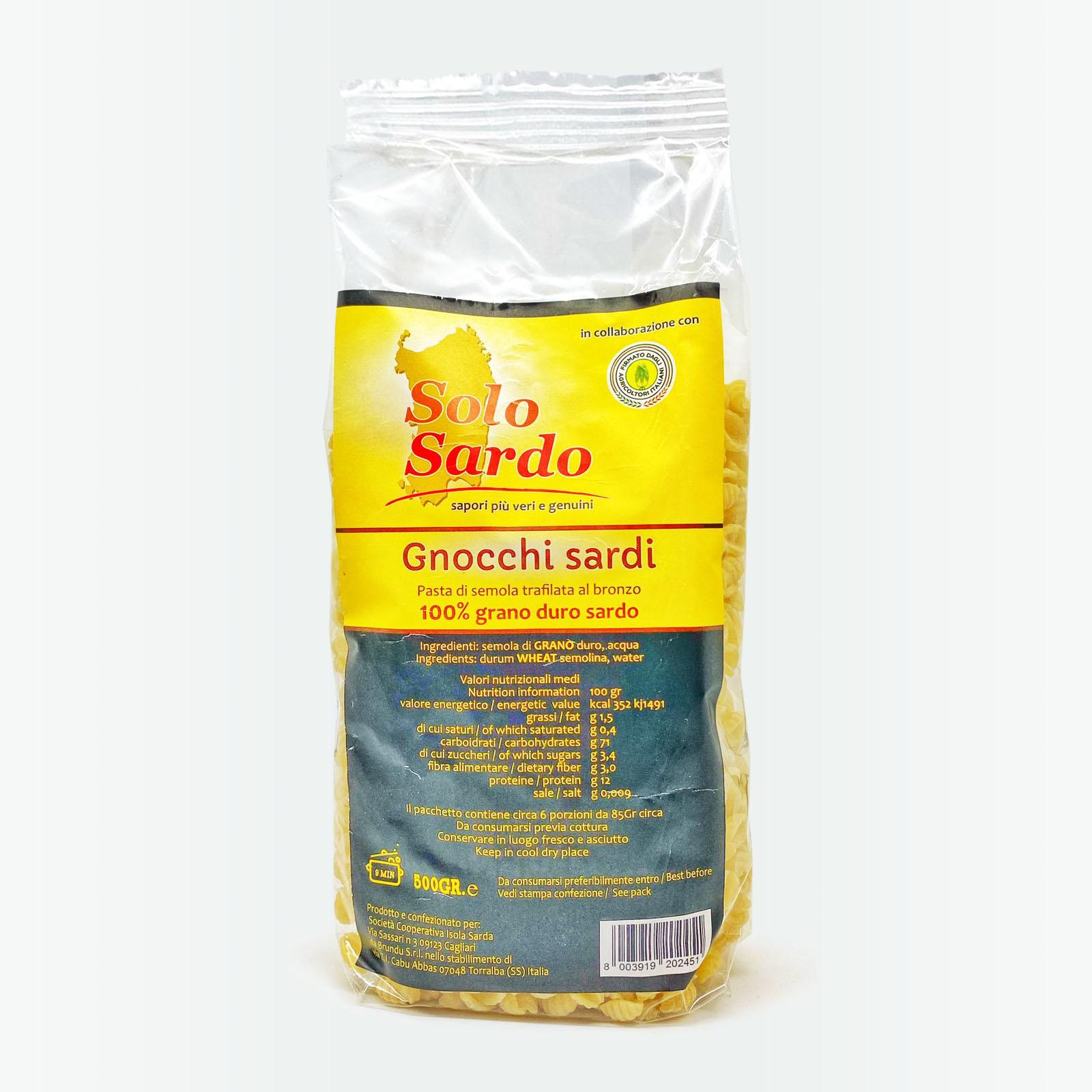 Gnocchi - Solo Sardo